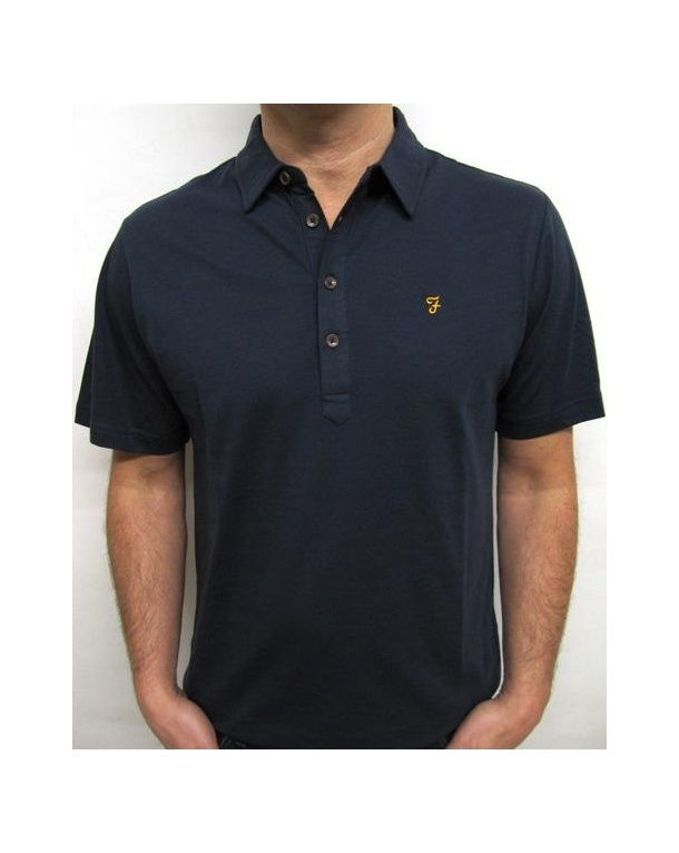 Farah Samuel Polo Shirt Navy