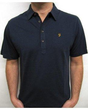Farah Samuel Polo Shirt Navy