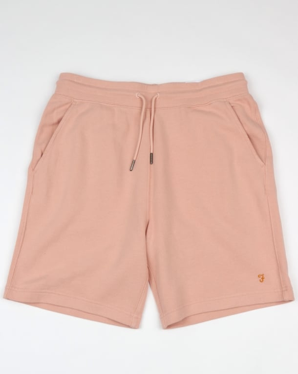 Farah Shalden Garment Washed Shorts Rose