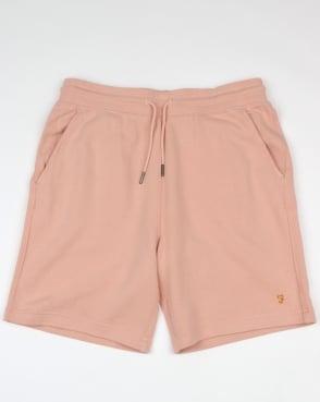 Farah Shalden Garment Washed Shorts Rose