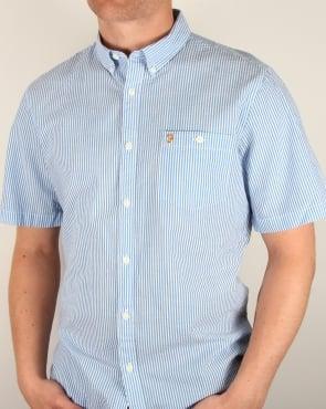 Farah Sloane Shirt Sierra Blue