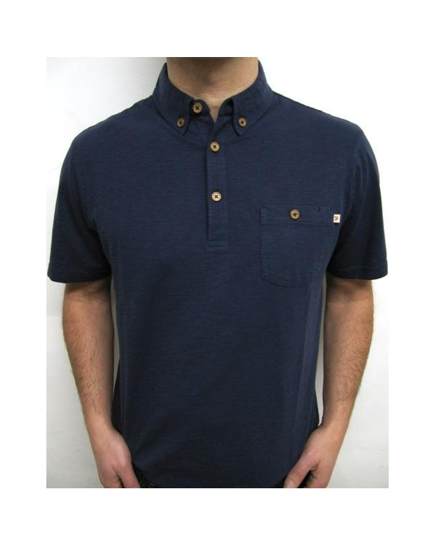 Farah Stapleford Polo Deep Navy