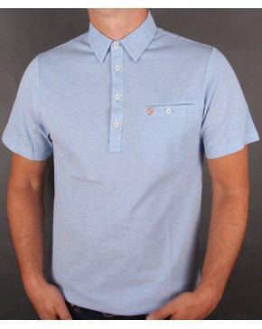 Farah Tennyson Polo Shirt Polar Blue
