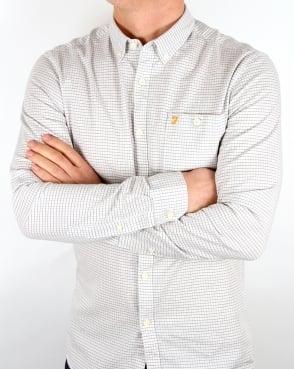 Farah Webber Shirt Ecru