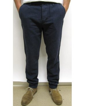 Farah Wellman Two Tone Trousers Navy