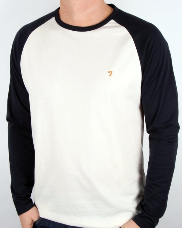 Farah Zemlak Raglan T Shirt True Navy