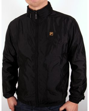 Fila Gold Fonte Bomber Jacket Black