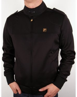 Fila Gold Indianapolis Track Top Black