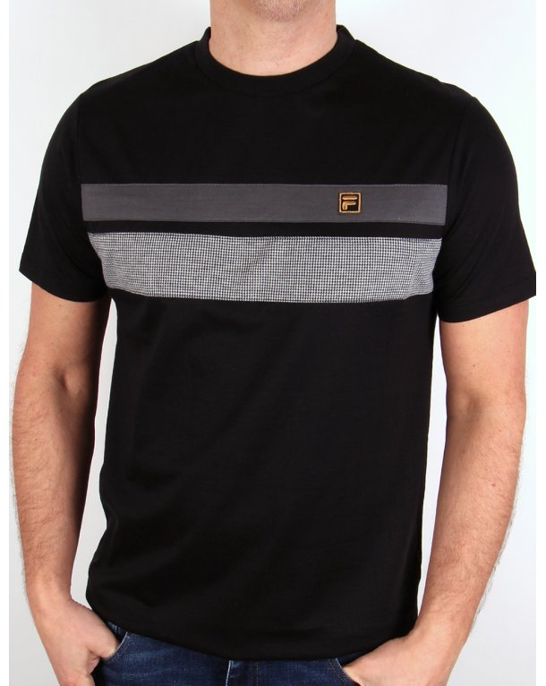 Fila Gold Piaggo T-shirt Black