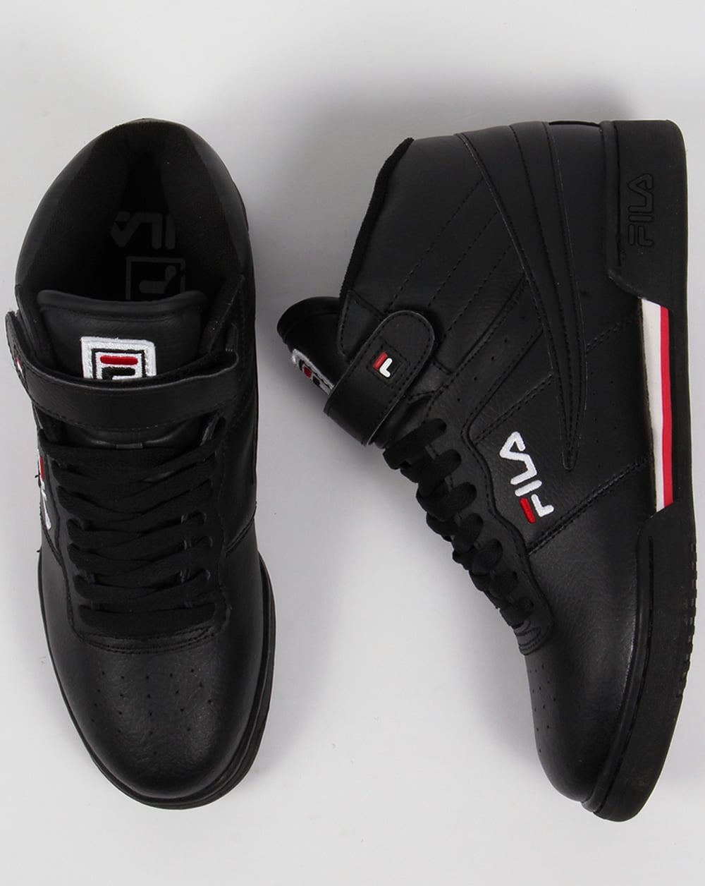 Fila Vintage F-13 Trainers Black,high tops,shoes,basketball