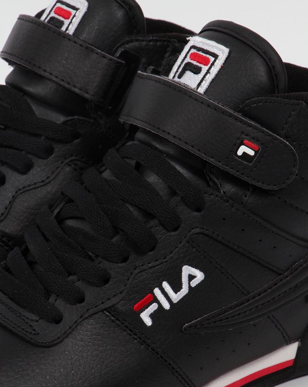 d012c3e069 Fila Vintage F-13 Trainers Black,high tops,shoes,basketball