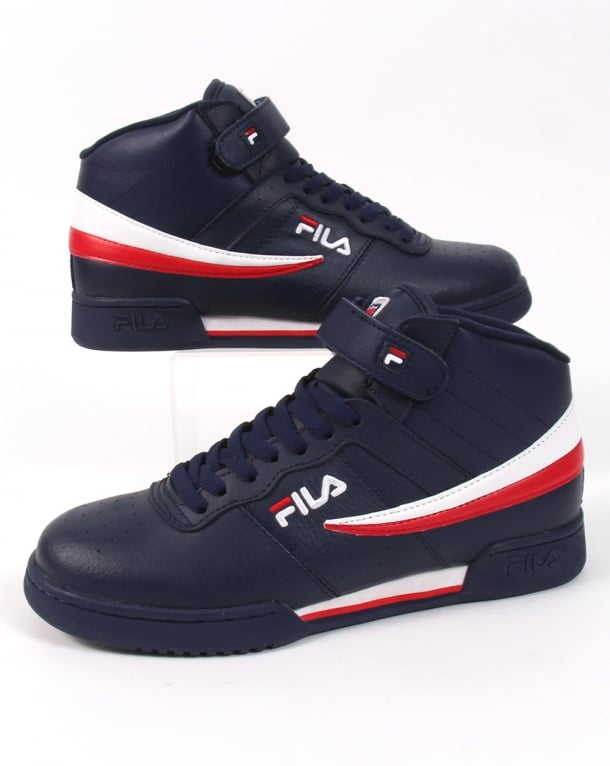 1b826caeed Fila Vintage F-13 Trainers Navy,high tops,shoes,basketball