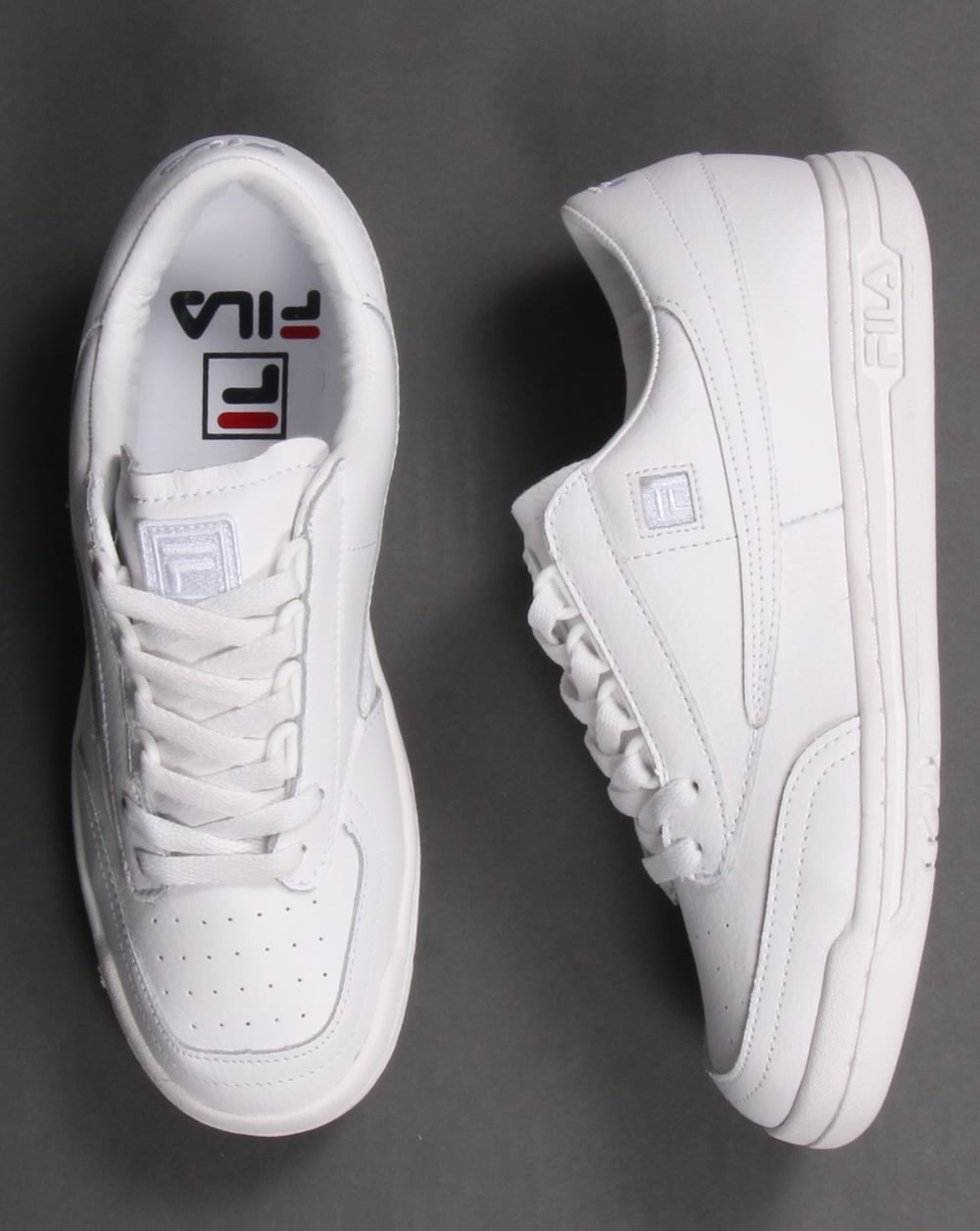 the best attitude e1e66 d9d36 Fila Heritage Original Tennis Trainers White
