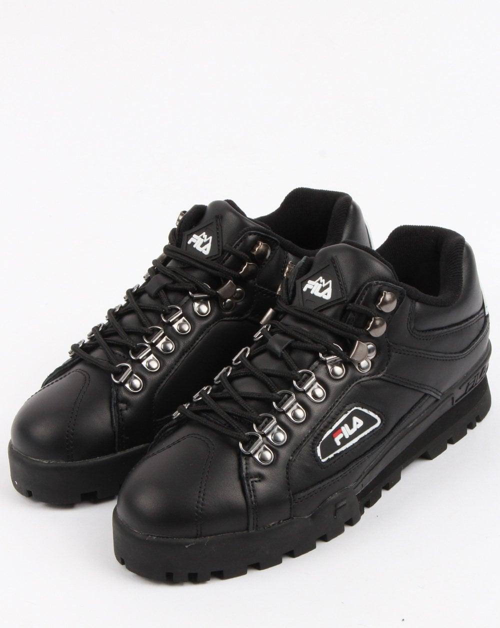 93984c8c6e34 Fila Vintage Trailblazer Hiking Boots Black