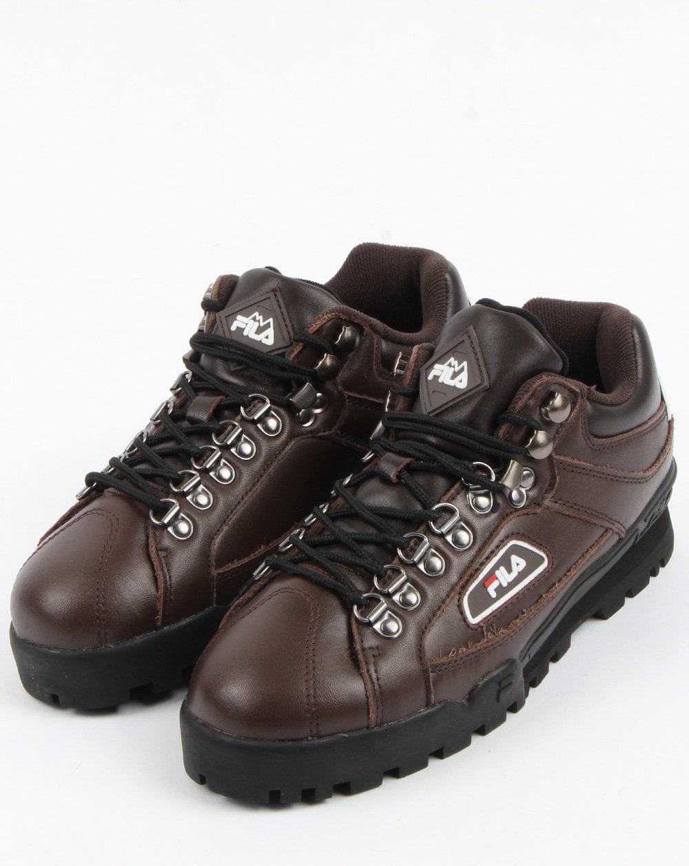 becb94f1de3 Fila Vintage Trailblazer Hiking Boots Brown | 80s casual classics