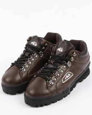 Fila Vintage Fila Trailblazer Boots Brown