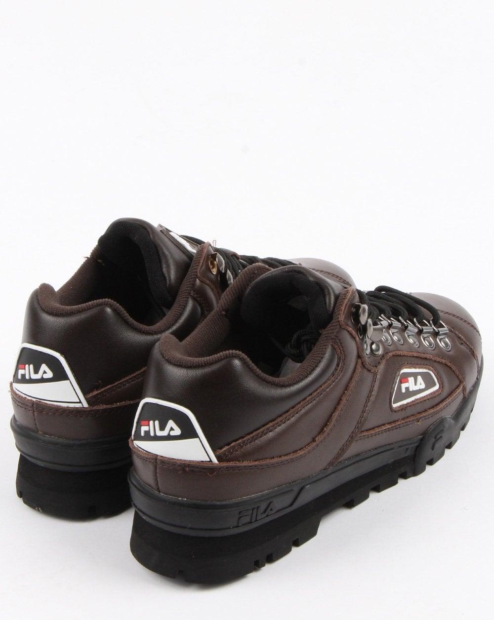 Fila Vintage Trailblazer Boots Brown,leather,hiking,Pinecone