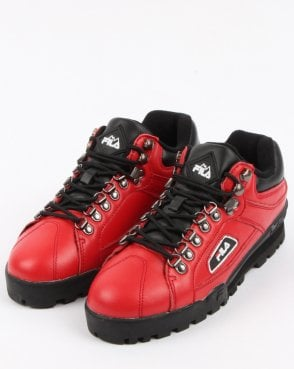Fila Trailblazer Boots Red
