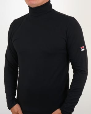 Fila Vintage 20th Roll Neck Black