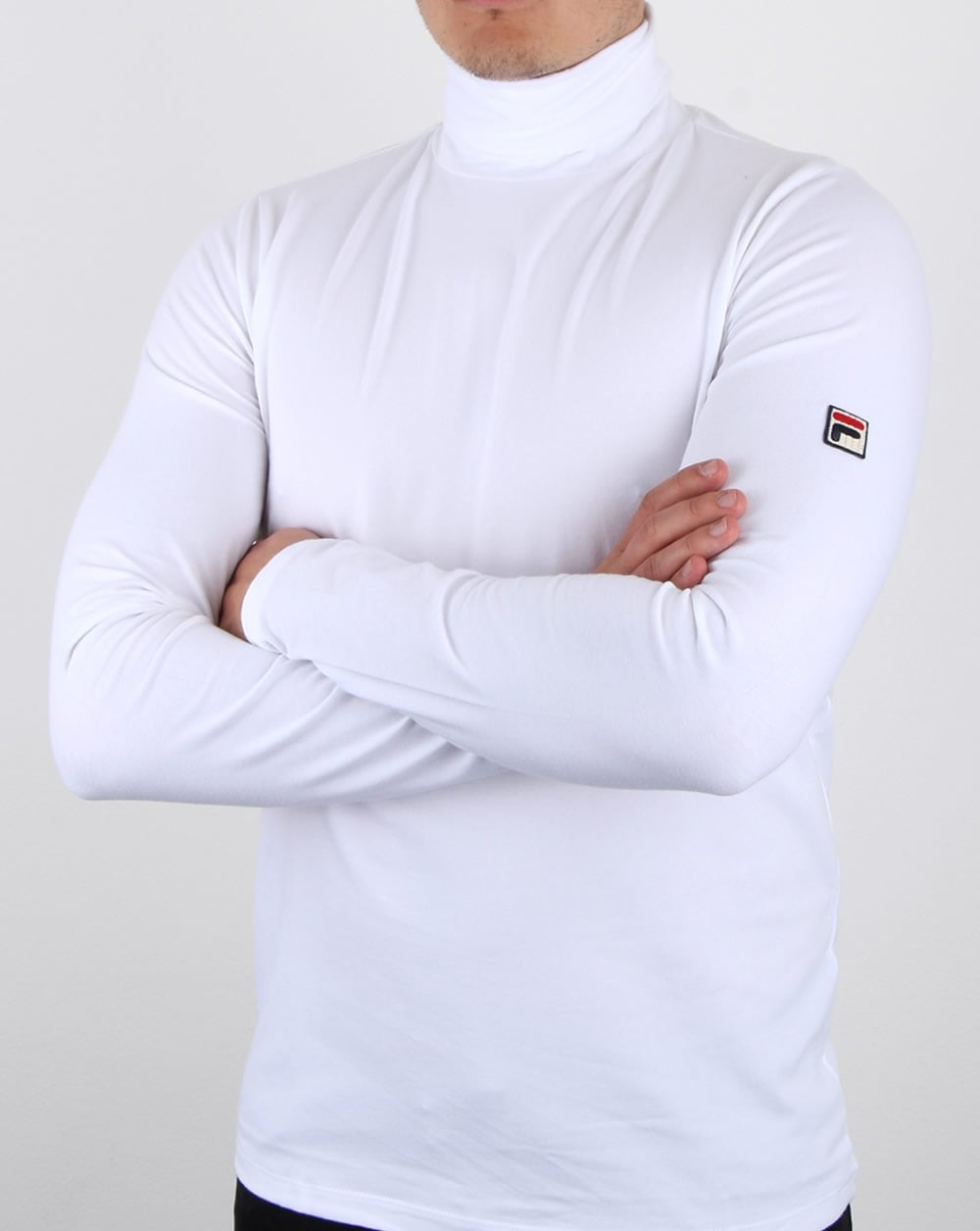 Fila Vintage 20th Roll Neck White