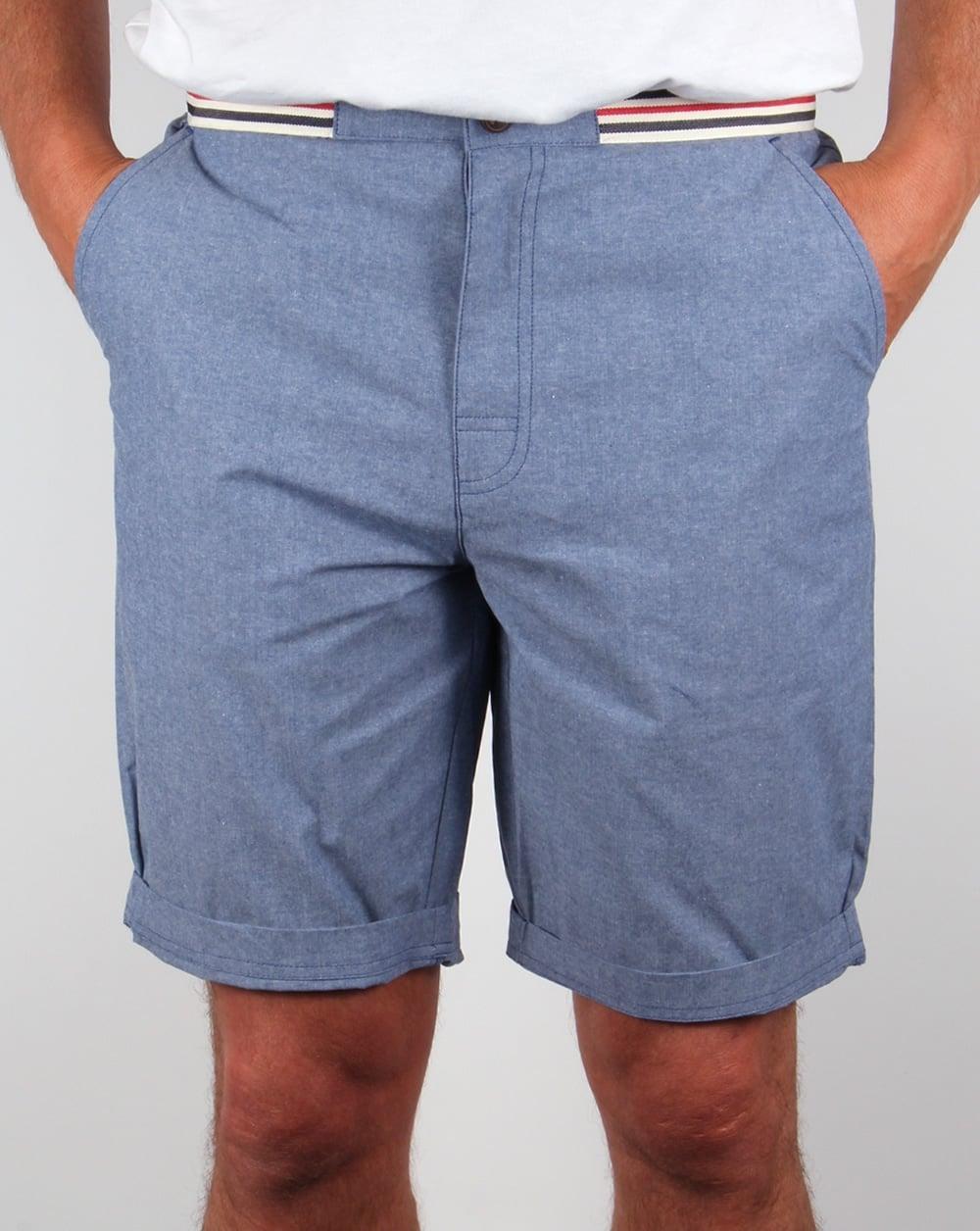 08807b726d Fila Vintage Fila Vintage Ahoy Shorts Oxford Blue