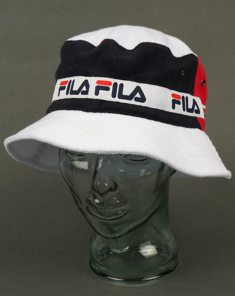 d4a03801c4d Fila Vintage Fila Vintage Alis Bucket Hat Navy
