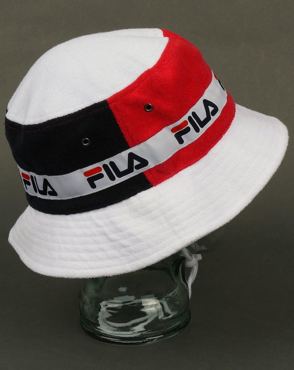 Fila Vintage Alis Bucket Hat Navy 3d0ae0d8cf3