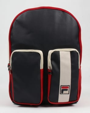 Fila Vintage Amanzio Backpack Navy