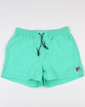 Fila Vintage Artoni Swim Shorts Aqua Blue