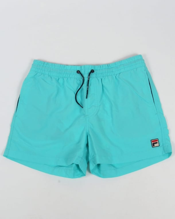 Fila Vintage Artoni Swim Shorts Blue Radience