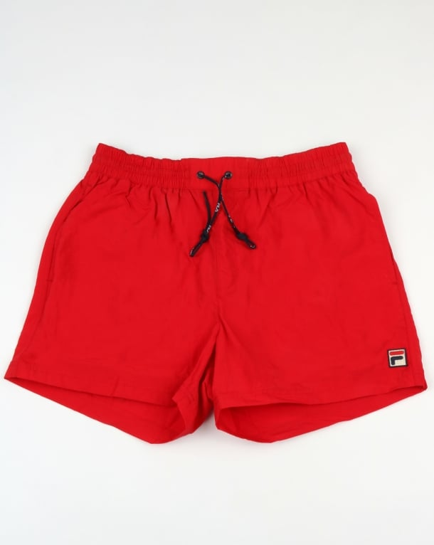 Fila Vintage Artoni Swim Shorts Chinese Red