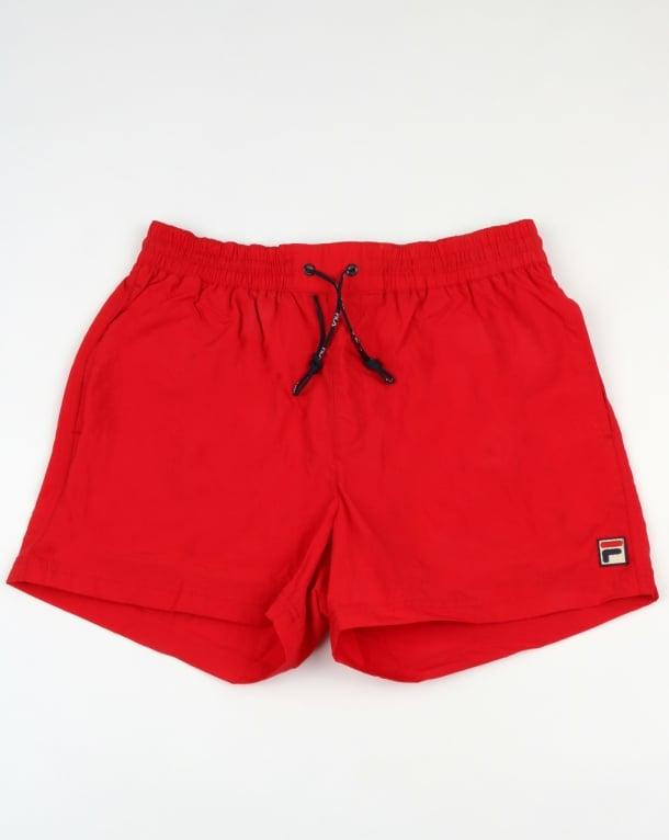 Fila Vintage Artoni Swim Shorts Chinese Red