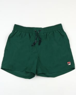 Fila Vintage Artoni Swim Shorts Green