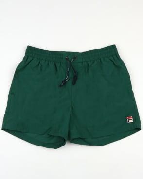 Fila Vintage Artoni Swim Shorts Green