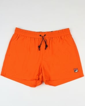 Fila Vintage Artoni Swim Shorts Orange