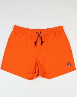 Fila Vintage Artoni Swim Shorts Orange