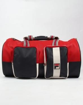 Fila Vintage Astorre Weekender Bag Navy