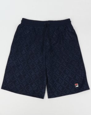 Fila Vintage Bailey Shorts Navy/White