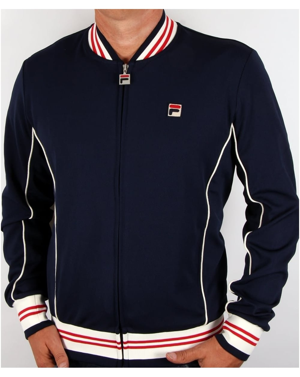 ffee24728fa Fila Vintage Baranci Track Top Navy,tracksuit,jacket,mens