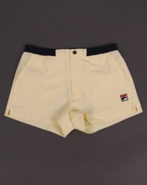 Fila Vintage Baseline Shorts Yellow