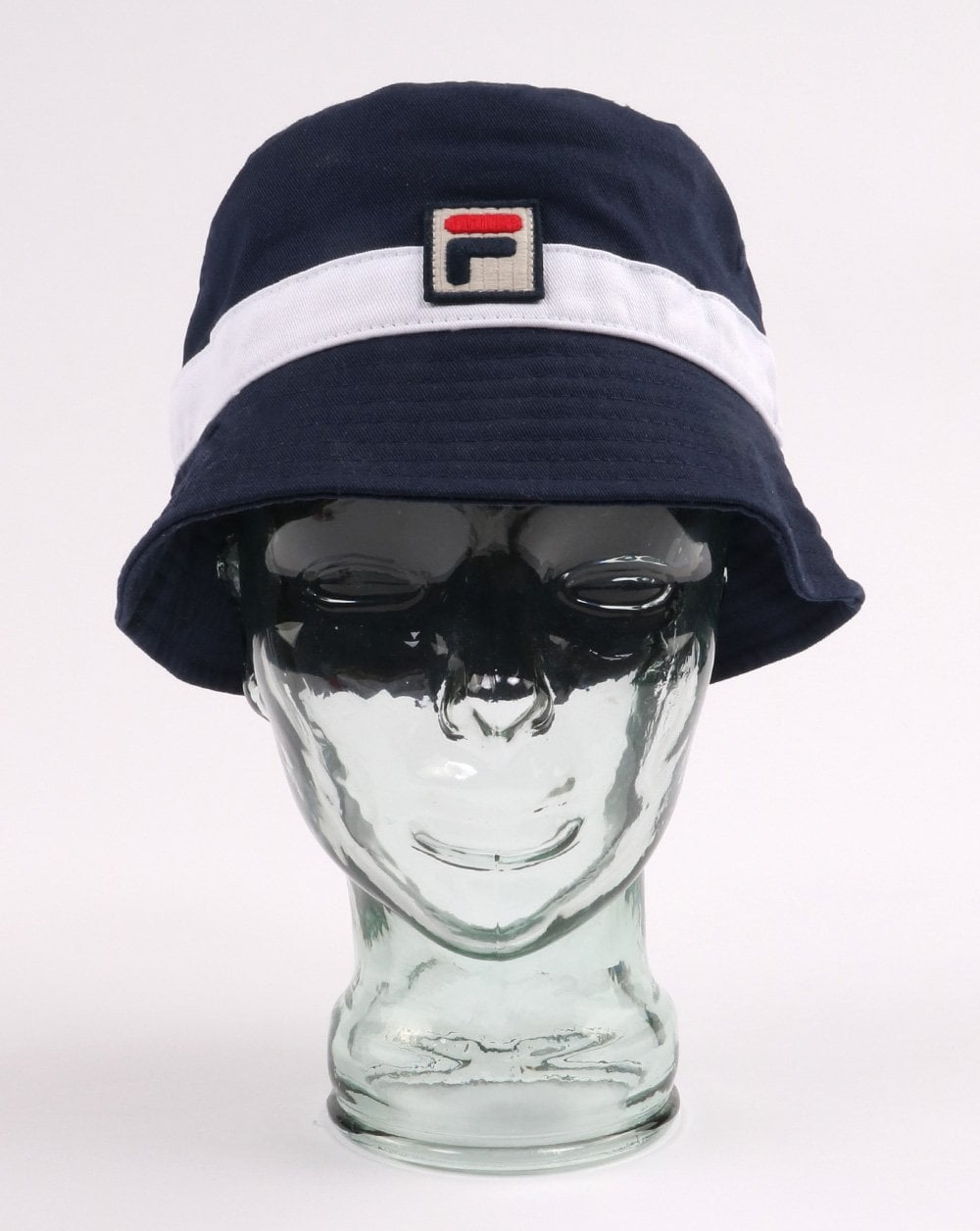 63e4c182b Fila Vintage Basil Bucket Hat Navy/White