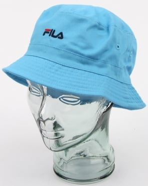 Fila Vintage Baxter Bucket Hat Lake Blue