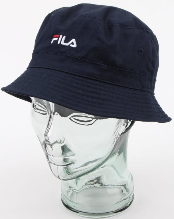 5cb4b83f4 Fila Vintage Baxter Bucket Hat Navy