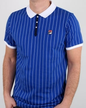 Fila Vintage Bb1 Polo Shirt Blue