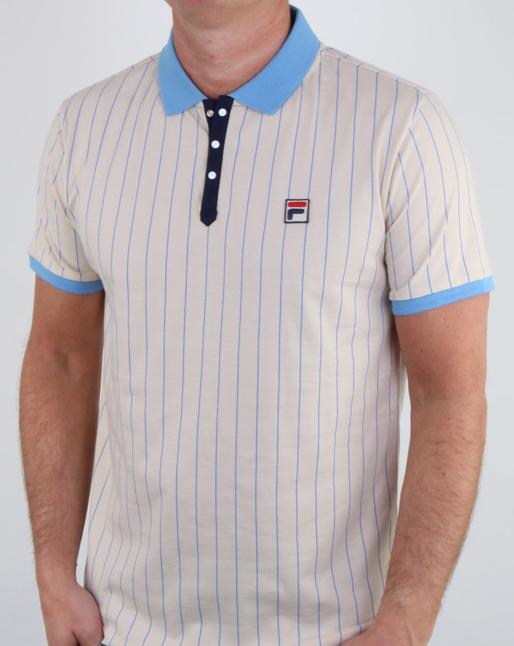 Fila Vintage Bb1 Polo Shirt Cream