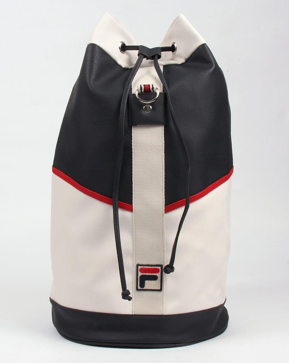 Fila Vintage Biago Duffle Bag Navy/White,holiday,holdall