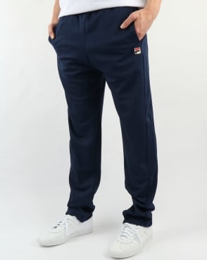 Fila Vintage Bianchi Track Pants Navy