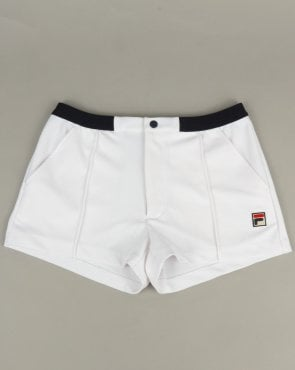 Fila Vintage Bottazzi Shorts White/Navy