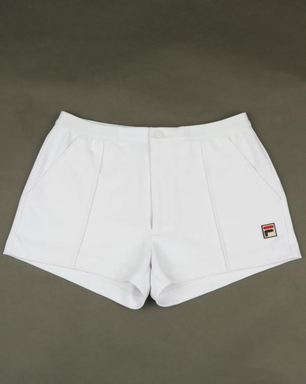 Fila Vintage Bottazzi Shorts White