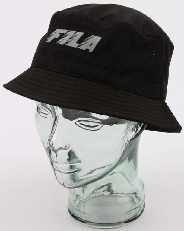 bdb676bb17cd7 Fila Vintage Boyd Bucket Hat Black
